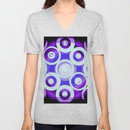 Circle To Purple Unisex V-Neck