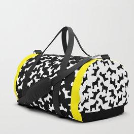 Schnauzer - Simple Dog Silhouette Duffle Bag