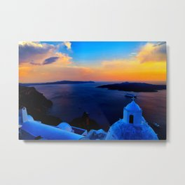 Santorini 26 Metal Print