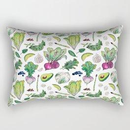 Superfood Pattern Rectangular Pillow