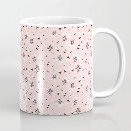 Dusty Pink Autumn Florals Coffee Mug
