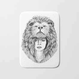 Lion Lady Bath Mat