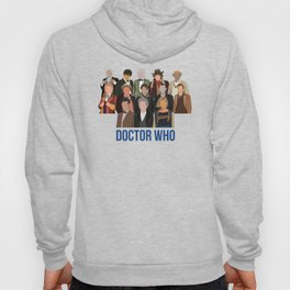 Doctor Who Through the Years Hoody