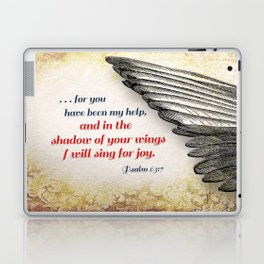 The Shadow of Your Wings Laptop & iPad Skin