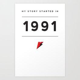 My Story Series (1991) Art Print