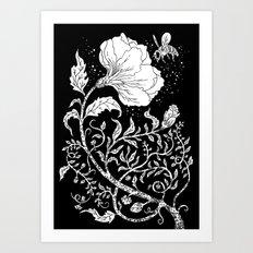 Abuzz Art Print