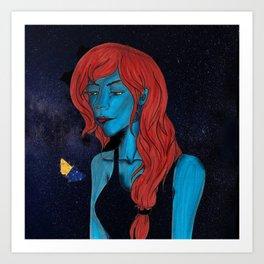 Strange the Dreamer - Sarai Art Print