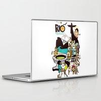 rio de janeiro Laptop & iPad Skins featuring RIO DE JANEIRO by Valter Brum