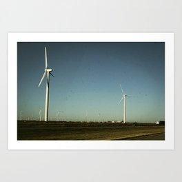 Amarillo Turbine Art Print