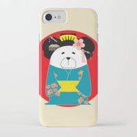 geisha iPhone & iPod Cases featuring Geisha by EinarOux