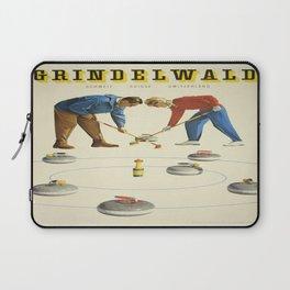 Vintage poster - Grindelwald Laptop Sleeve