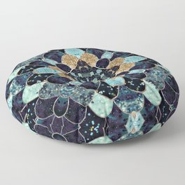 REALLY MERMAID - MYSTIC BLUE Floor Pillow