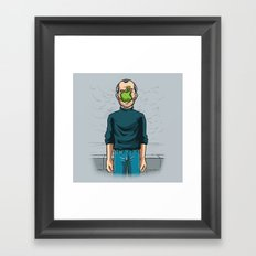 The Son of Apple Framed Art Print