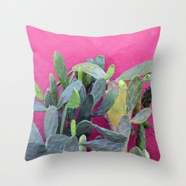 cactus i. colombia. Throw Pillow