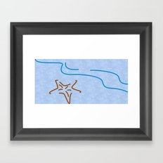 The Beauty of Lines Part III Framed Art Print