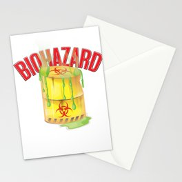 Biohazard Stationery Cards