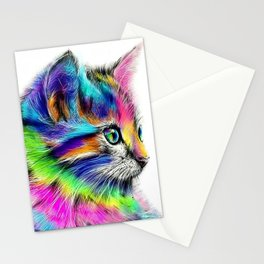 CAT--FluO Stationery Cards