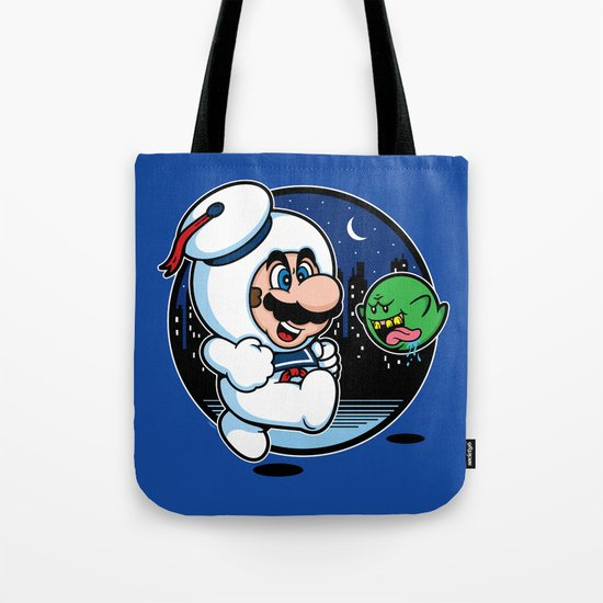 Super Marshmallow Bros. Tote Bag