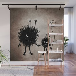 Evil Flower Bug Mother's Day Wall Mural