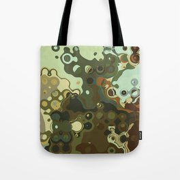 RETRO Mid Century Modern Abstract Pattern Geometric Art by Michel Keck Tote Bag
