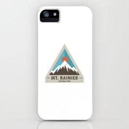 Mt. Rainier National Park iPhone Case