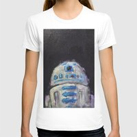 r2d2 T-shirts featuring r2d2 by Thad Taylor Art