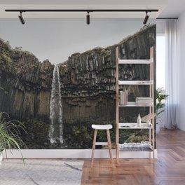 Waterfall XVI / Iceland Wall Mural