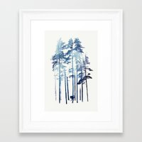 wolf Framed Art Prints featuring Winter Wolf by Robert Farkas
