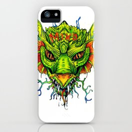 Green Mind Monster iPhone Case