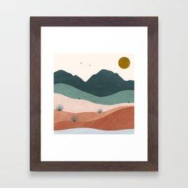 terra serena Framed Art Print