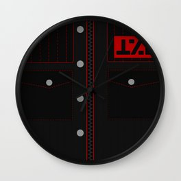 Jet Star Outfit Wall Clock