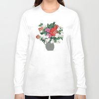 perfume Long Sleeve T-shirts featuring Making perfume by Yuliya