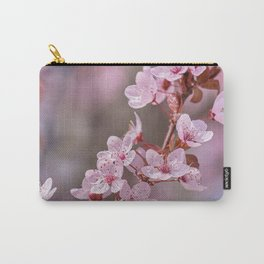 Wonderful pink spring. Blossons trees. Granada. Spain Carry-All Pouch