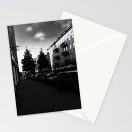 where am I? it is geting dark Stationery Cards