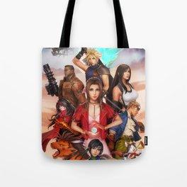 Final Fantasy 7 FF7 AVALANCHE Tote Bag