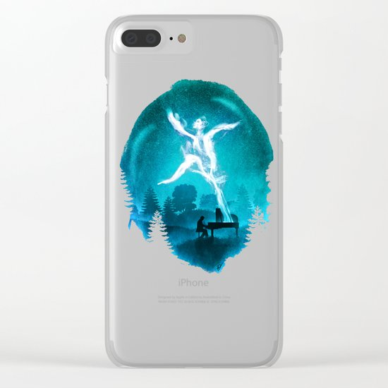 Summoning the Muse Clear iPhone Case