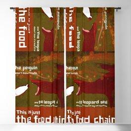 food chain 2 Blackout Curtain