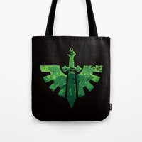 warhammer Tote Bags featuring Angels on the horizon by HenkusFilijokus