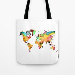 world map 71 Tote Bag