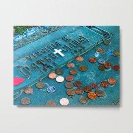 R.I.P. Patsy Cline Metal Print