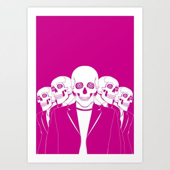Dead Gang Art Print