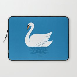 Just The One Swan Actually Laptop Sleeve