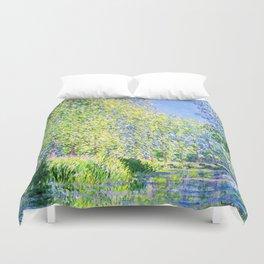 Monet: Bend in the River Ept Duvet Cover