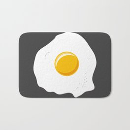 Lonely omelette Bath Mat