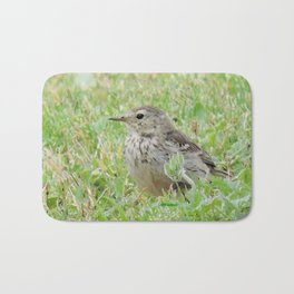 Pipit on the Lawn Bath Mat
