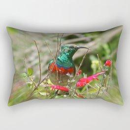 Honey Bird Rectangular Pillow