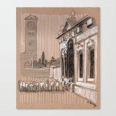 Epier Pierre Rome Piazza dei Cavalieri di Malta Canvas Print