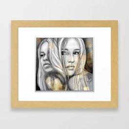 """Reflection I"" by carographic Framed Art Print"