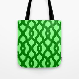 Grille No. 2 -- Lime Tote Bag