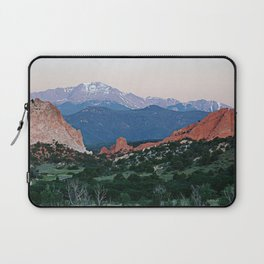 Sunrise at Garden of the Gods and Pikes Peak Laptop Sleeve